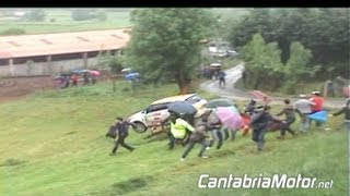 Accidentes - Rallye Cantabria Internacional 2012
