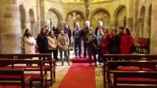 Ave María del Coro Provocanto en la Colegiata de San Martín de Elines