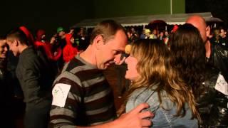 Baile de la patata en en Villanueva de la Nia