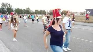 La Banda de Cornetas y Tambores y las Majorettes volverán a desfilar #SMReinosa2016