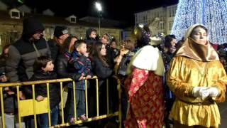 Cabalgata de Reyes en Reinosa (2017)