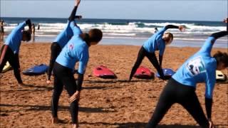 Campamento de surf en Ajo (2012)
