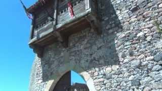 Castillo de Argüeso, recreación medieval