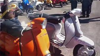Concentración Scooter Club Cantabria