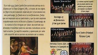 Concierto de Santa Cecilia en Reinosa (2016)