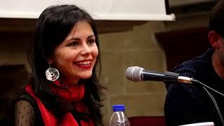 Corral Cañas presentó su poemario 'La voz del animal bajo tu piel'