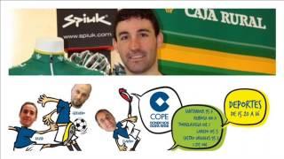 David de la Fuente, en Deportes Cope Cantabria