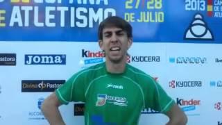 Diego Cabello, Campeón de España de 400m vallas