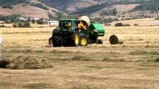 Demostración de maquinaria agrícola (Talleres Alfredo Ruiz)