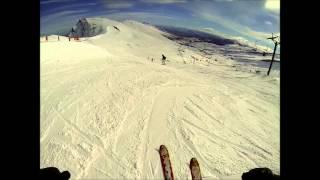 Descenso desde el Pico Tres Mares