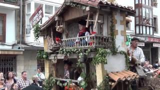 Día de Campoo 2013 Reinosa Desfile carretas típicas