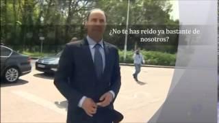 Diego se rie de los trabajadores de Sniace