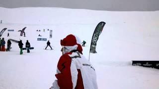 El nuevo Snowpark de Alto Campoo