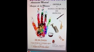 Concierto de la Escuela y de la Banda de Música de Reinosa 2015