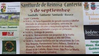 Festival folclórico en Santiurde de  Reinosa 2015
