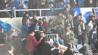 Incidentes Racing de Santander - Real Oviedo 23/03/2014
