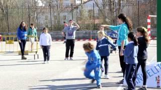 Juegos tradicionales en el Colegio San José de Reinosa