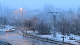 La ciclogénesis trae viento y nieve a Campoo