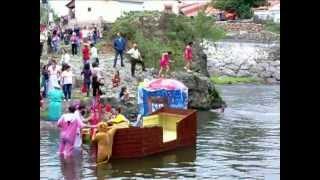 Los cachirulos toman el río Besaya