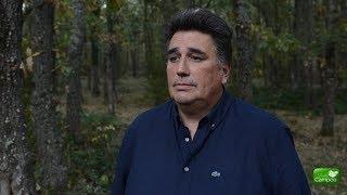 Manuel Estébanez explica la berrea en Campoo