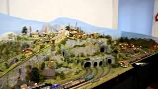 Mataporquera estrena su maqueta ferroviaria