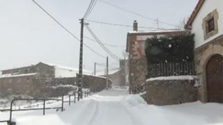 Paisajes nevados en Campoo (III)