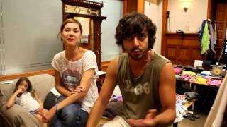 'Porsiemprejamón' la aventura cinematográfica de Ruth Díaz y Jaime Martín