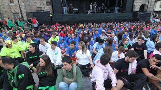 Premios carrozas 2014 y protesta de las peñas