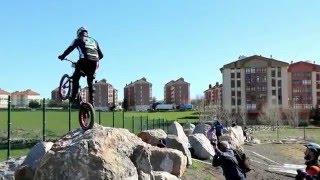 Reinosa acoge el Campeonato Regional-Open de Cantabria de Bike Trial