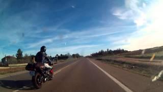 Desde Reinosa a Almería en moto
