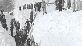 Reinosa antigua y sus nevadas