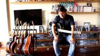 Rulo sortea una guitarra a favor de la Asociación Española Contra el Cáncer en Cantabria