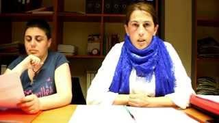 Las secretarias comarcales de CC OO y UGT valoran los datos del paro del mes de abril