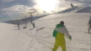 Snowboard en Alto Campoo