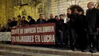 La sociedad campurriana clama contra los despidos en Columbia