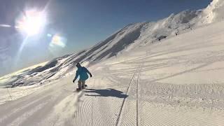 Sol y nieve polvo en Alto Campoo