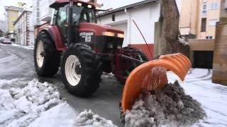 Temporal de nieve en Campoo (febrero 2016)