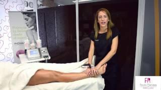 Tratamiento contra el dolor de piernas con Indiba