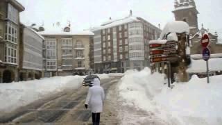 Últimos coletazos de la ola de frío en Campoo
