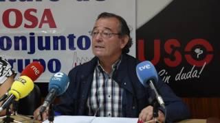 USO lanza un S.O.S sobre la situación de Sidenor y la planta de Reinosa