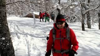 V Marcha de esquís y raquetas Proaño-Liguardi