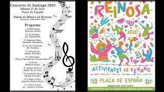 Banda Música de Reinosa Concierto Santiago 2020