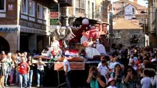 Desfile de Carrozas de San Mateo 2013 en Reinosa