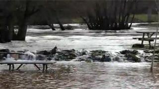 El Ebro, salvaje, a su paso por Valderredible