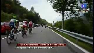 El ataque de Contador en el Collado de Hoz