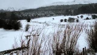 El granizo, tormenta y nieve, protagonistas en Campoo