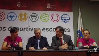 Estelas Rosas Recibe la recaudación solidaria de la Gala del Deporte Cántabro