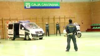 Exhibición de la Guardia Civil en Matamorosa