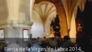 Homenaje a la Virgen de Labra 2014