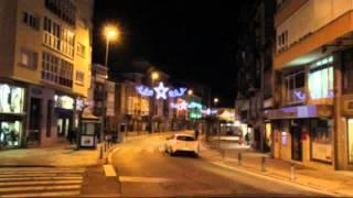 Iluminacion navideña en las calles de Reinosa